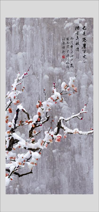 飞雪迎春高清图片